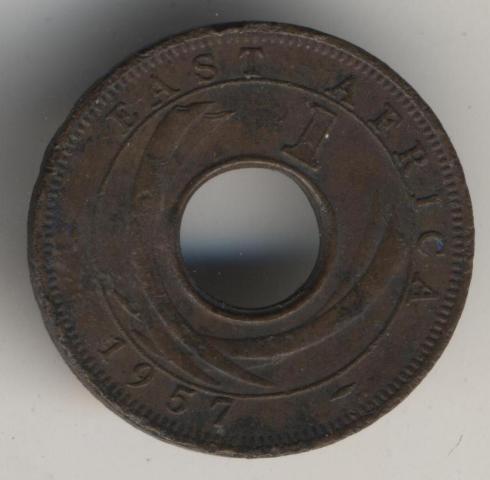 Брит.Восточная Африка !! 1 цент 1957 г !!