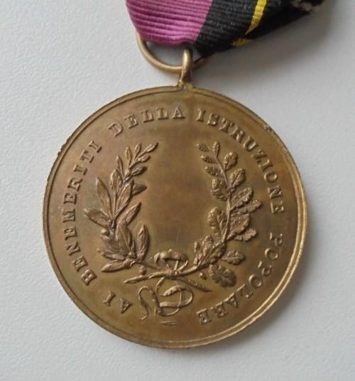 Медаль Германия-Италия 1867, Оригинал!