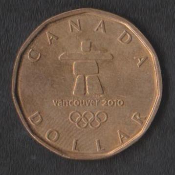 Канада 1 доллар 2010 г Ванкувер