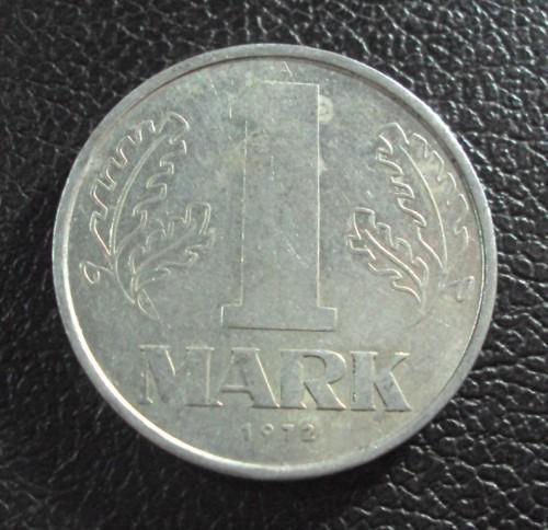 Германия ГДР 1 марка 1972 год.