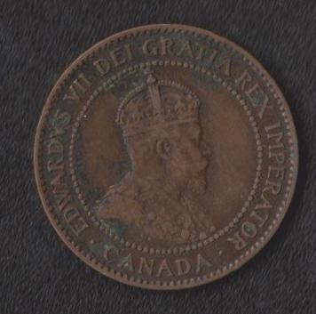 Канада 1 цент 1906 г