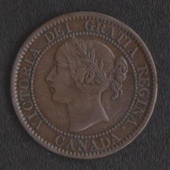 Канада 1 цент 1859 г