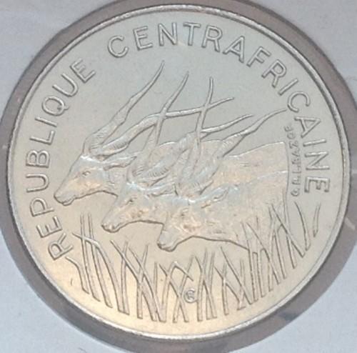 Центральноафриканская Республика,  100 франков  1983 года