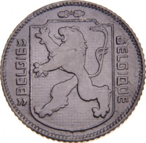 Бельгия королевство(оккупация) 1 франк  1944 года
