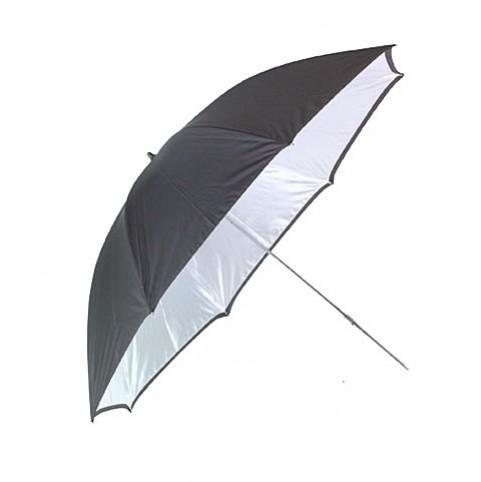 Фото зонт отражатель серебристый ( серебряный ) 84см.