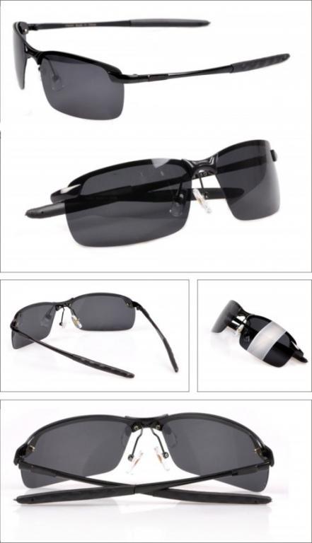 Мужские поляризованные очки RB (ЧЕРНЫЕ В НАЛИЧИИ!)