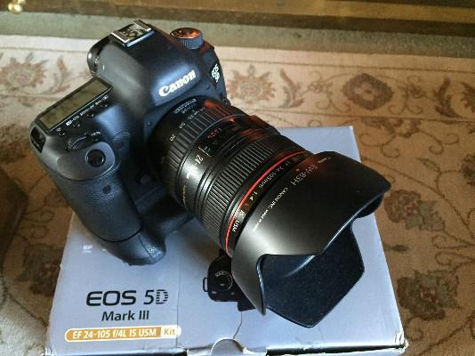 Canon Eos 5D Mark III 24 105mm