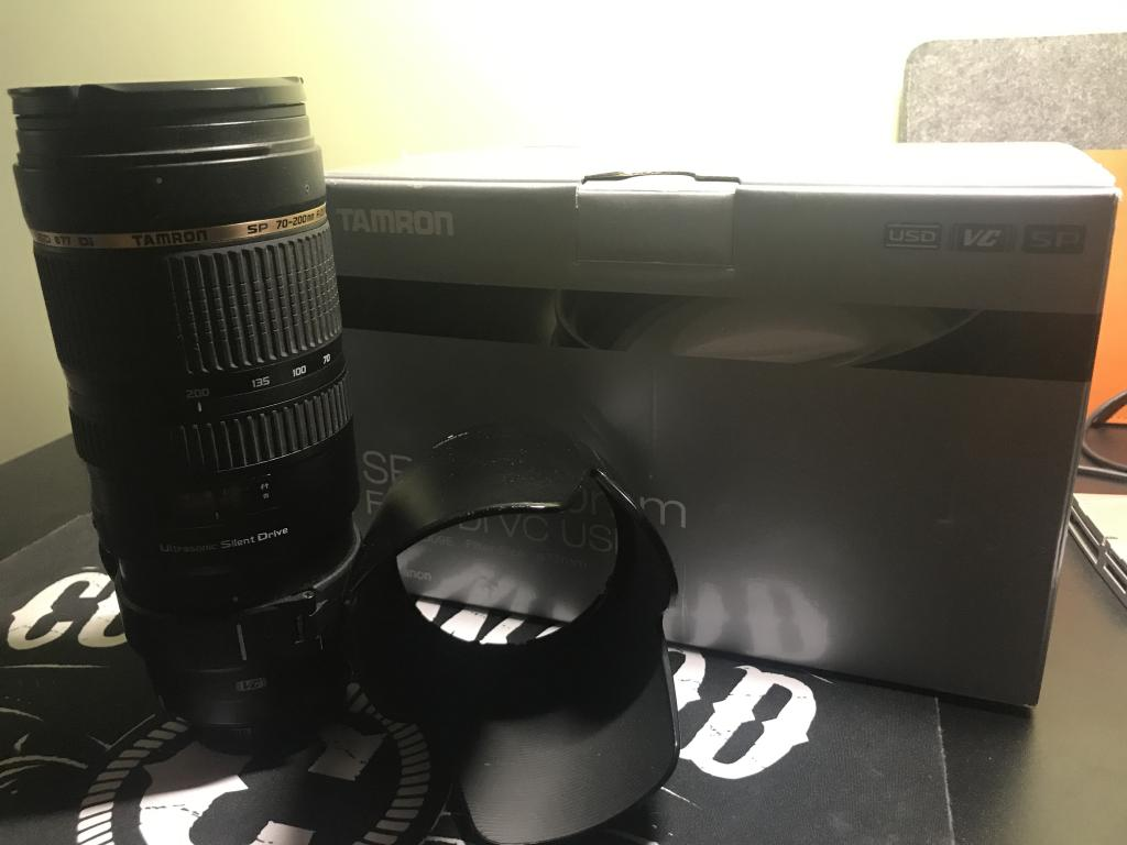 Объектив Tamron 70-200mm F2.8 SP Di VC USD