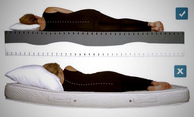 Матрас «SQ_relax» для больных спин двусторонний ортопедический