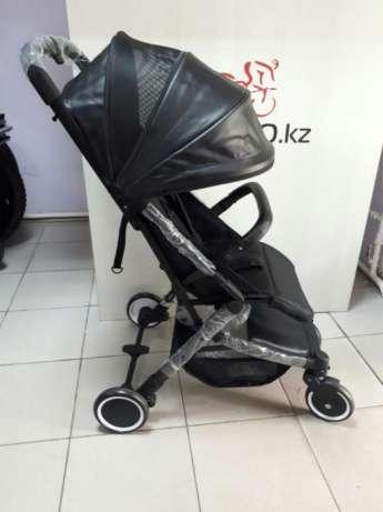 Детская прогулочная коляска Teknum. Экокожа. В кредит. Доставка и самовывоз