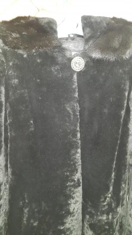шуба из натурального меха