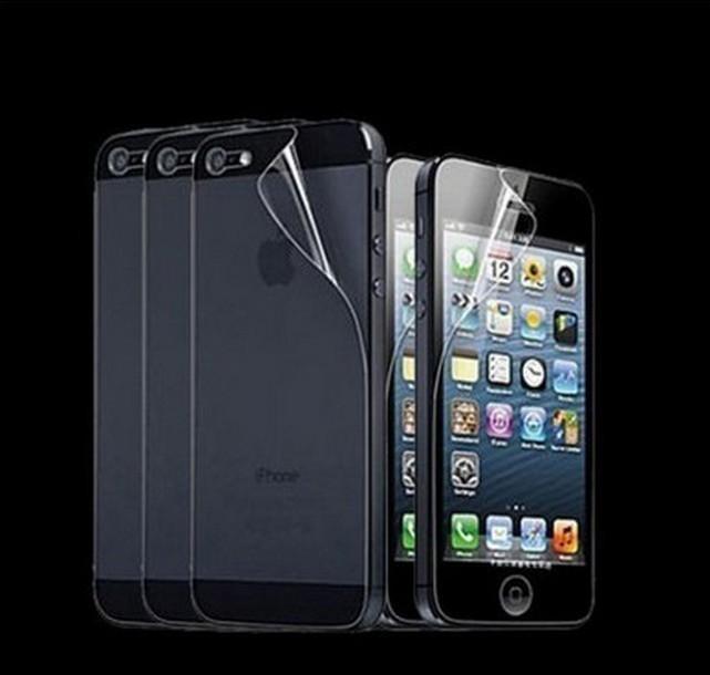 Защитная пленка HD Clear на экран и корпус для Apple iPhone 5 серии