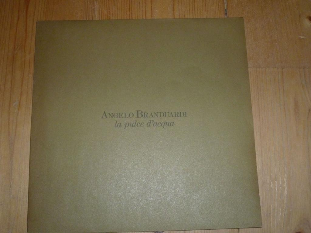 Виниловая пластинка  Angelo Branduardi  - la puls d aqua