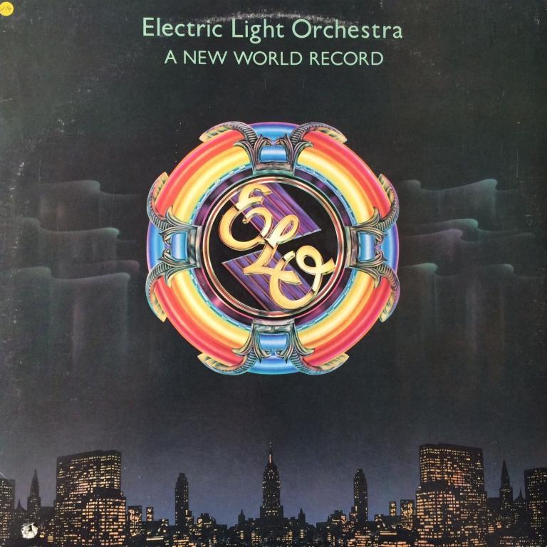 Виниловая пластинка  ELO - A new world records