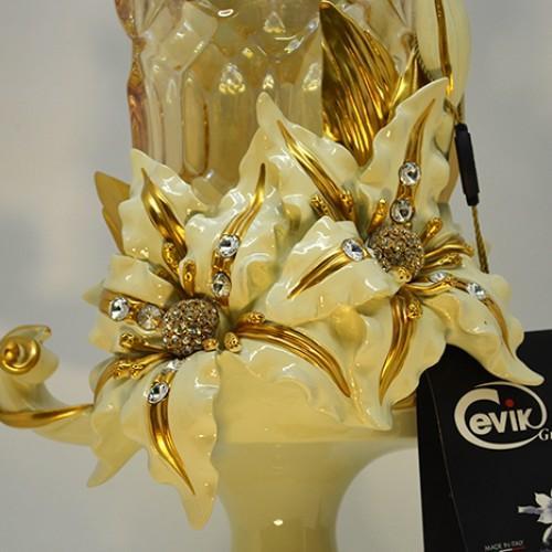 Ваза Золотая Лилия      Производитель: Cevik Group Италия