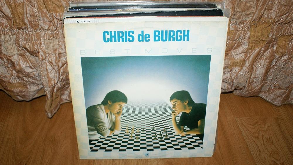 Виниловая пластинка CHRIS DE BURGH - BEST MOVES / VG+