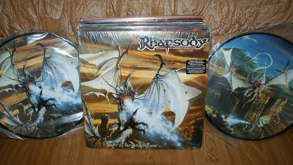 Виниловая пластинка- RHAPSODY /pictyredisc 2LP / EX