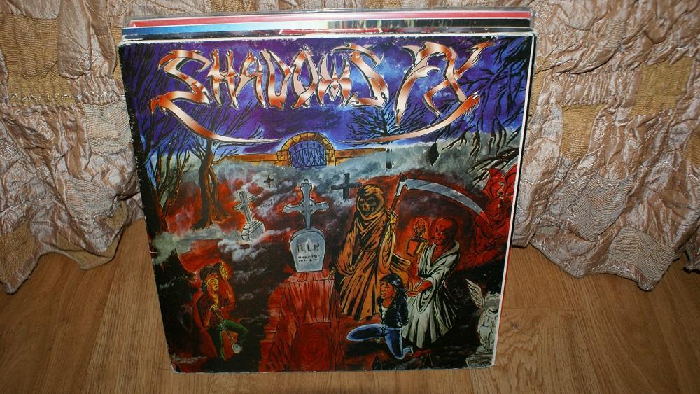 Виниловая пластинка-SHADOWS EX / METALL   / EX