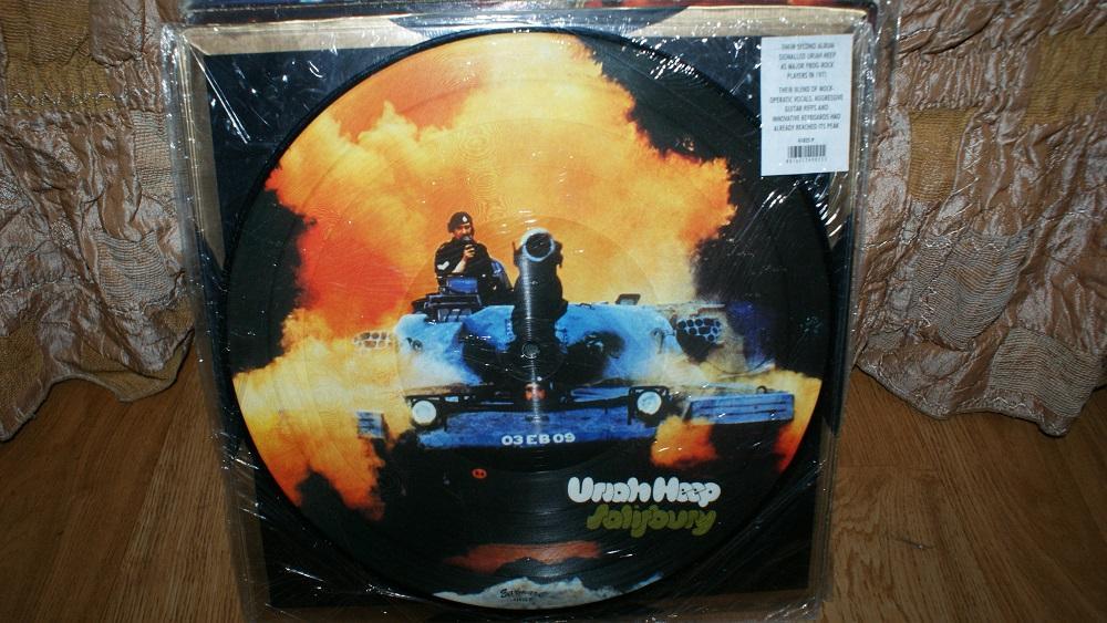 Виниловая пластинка- Uriah heep -Solisbury /pictyredisc / EX