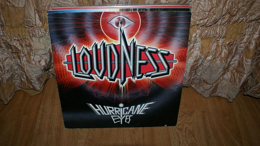 Виниловая пластинка-LOUDNESS -HURRICANE EYES / METALL   / VG+++