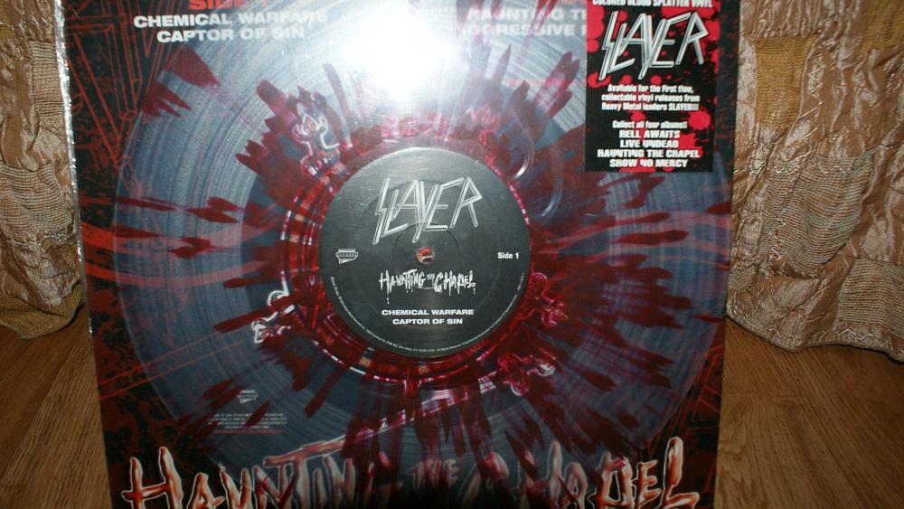 Виниловая пластинка- SLAYER /pictyredisc / EX