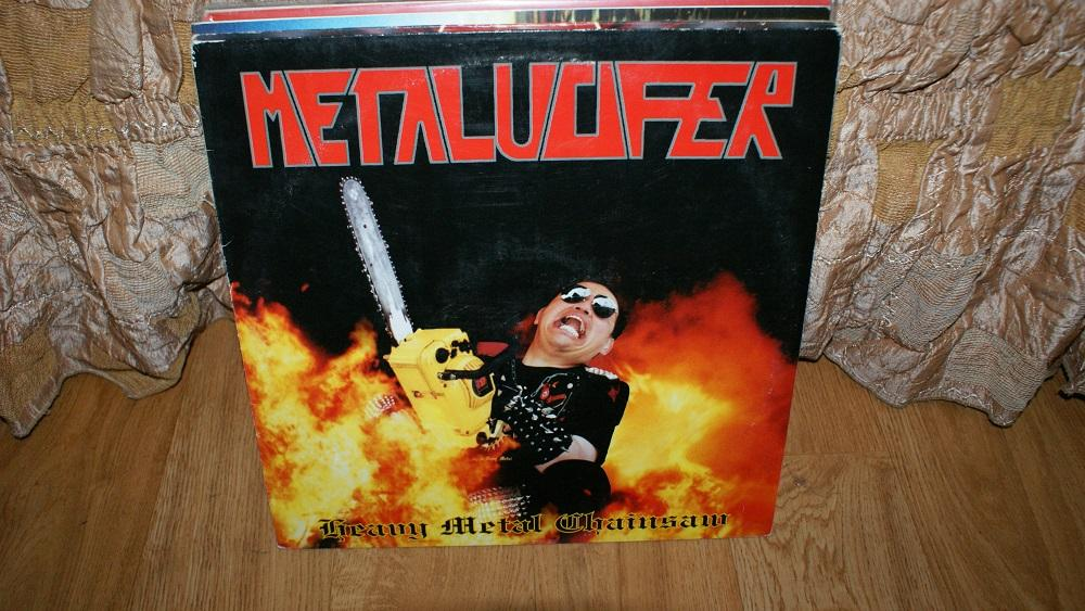 Виниловая пластинка-METALUCIFER / METALL   / VG++