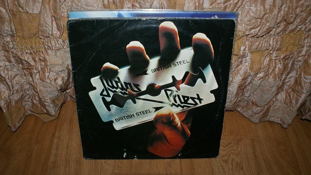 Виниловая пластинка-JUDAS PRIEST  - BRITISH STEEL / VG+