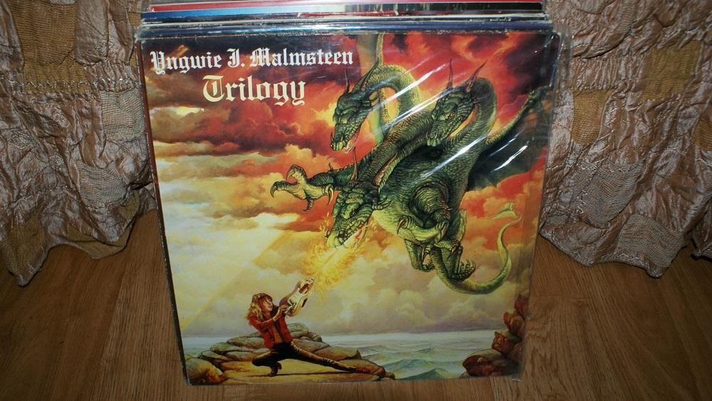 Виниловая пластинка- iNGWIE MALMSTEEN - TRILOGY  / EX