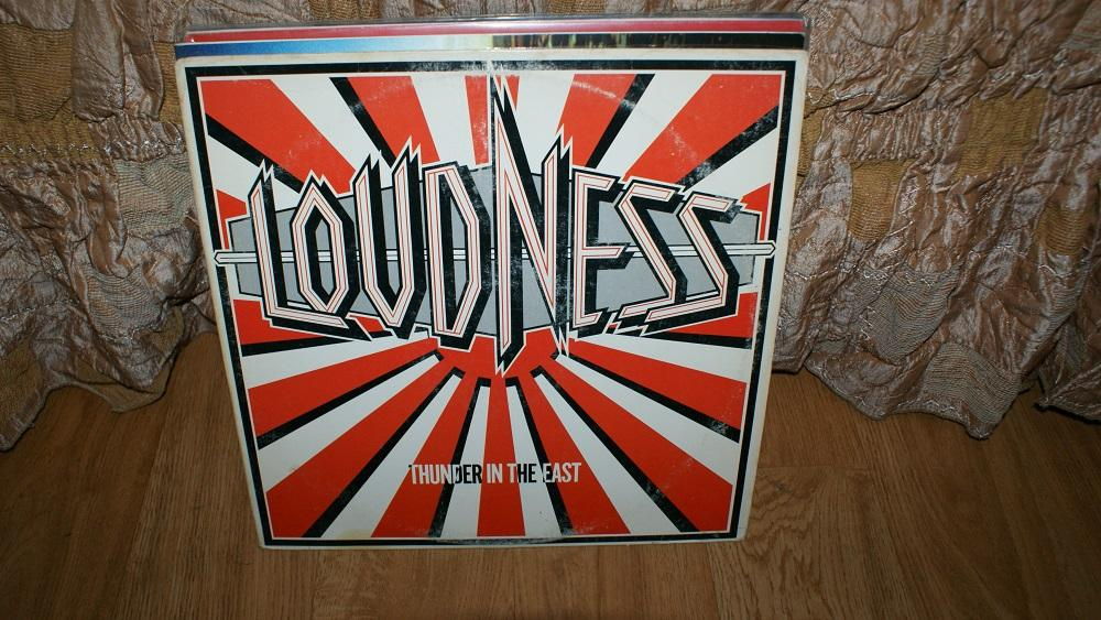Виниловая пластинка-LOUDNESS -THUNDER IN THE EAST / METALL   / VG