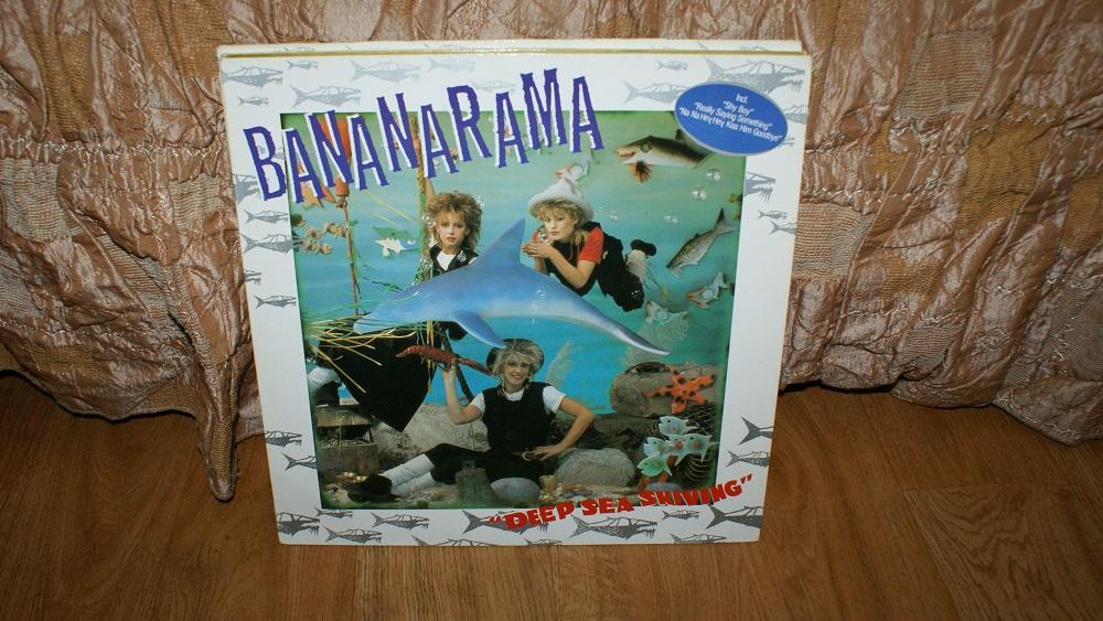 Виниловая пластинка- BANANARAMA - DEEP SEA SKIVING / EX