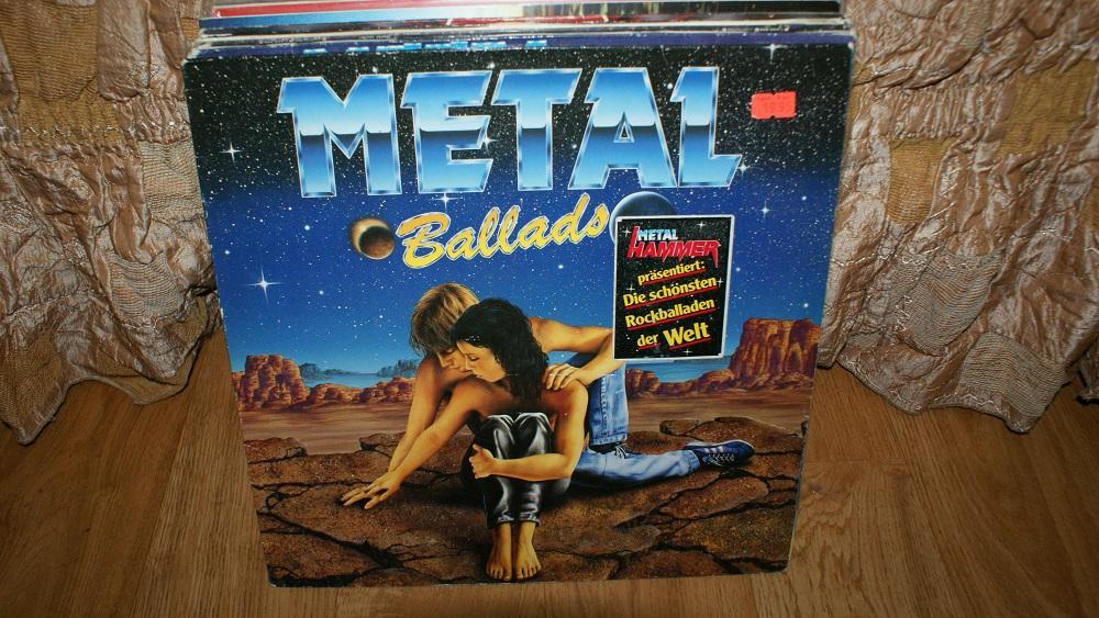 Виниловая пластинка- METALL BALLADS  / EX