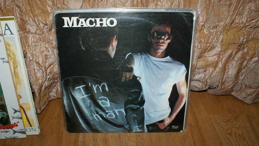 Виниловая пластинка- MACHO - I AM A MAN /VG++