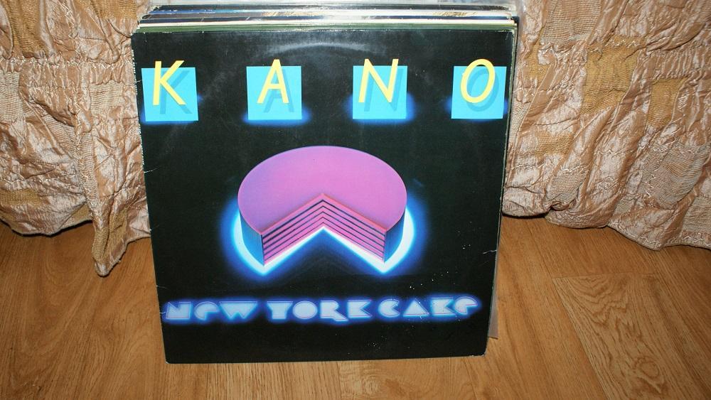 Виниловая пластинка KANO - NEW YORC CAFE /VG+++/ ITALODISCO