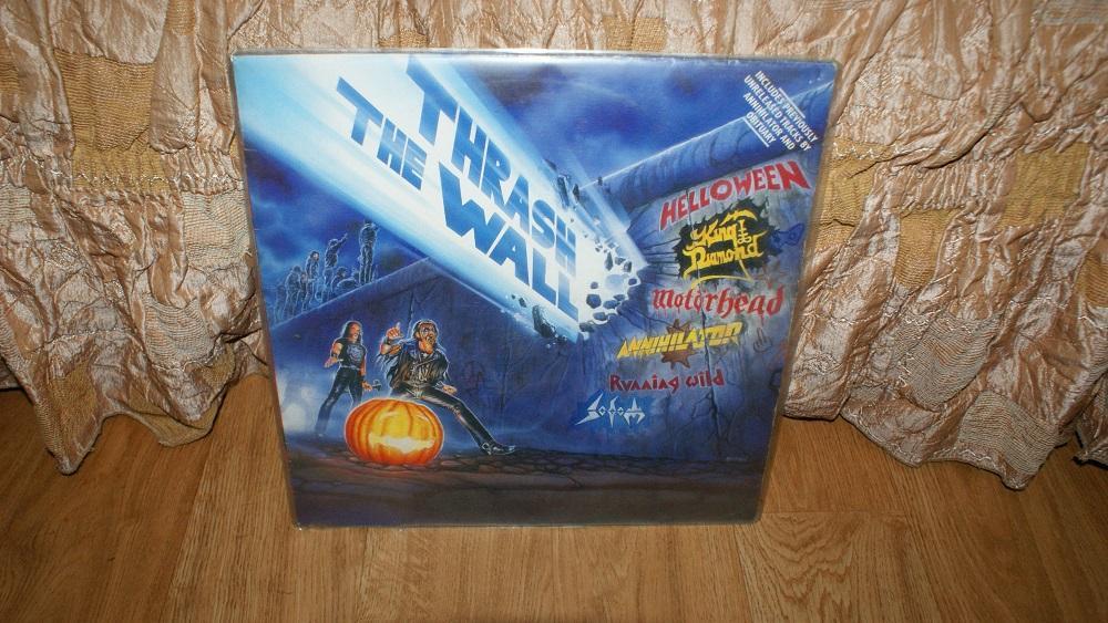 Виниловая пластинка-THRASH THE WALL/ VG+++/