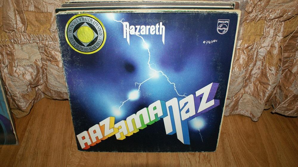 Виниловая пластинка-Nazareth - razamanaz / VG+++/