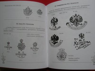Марки русского фарфора
