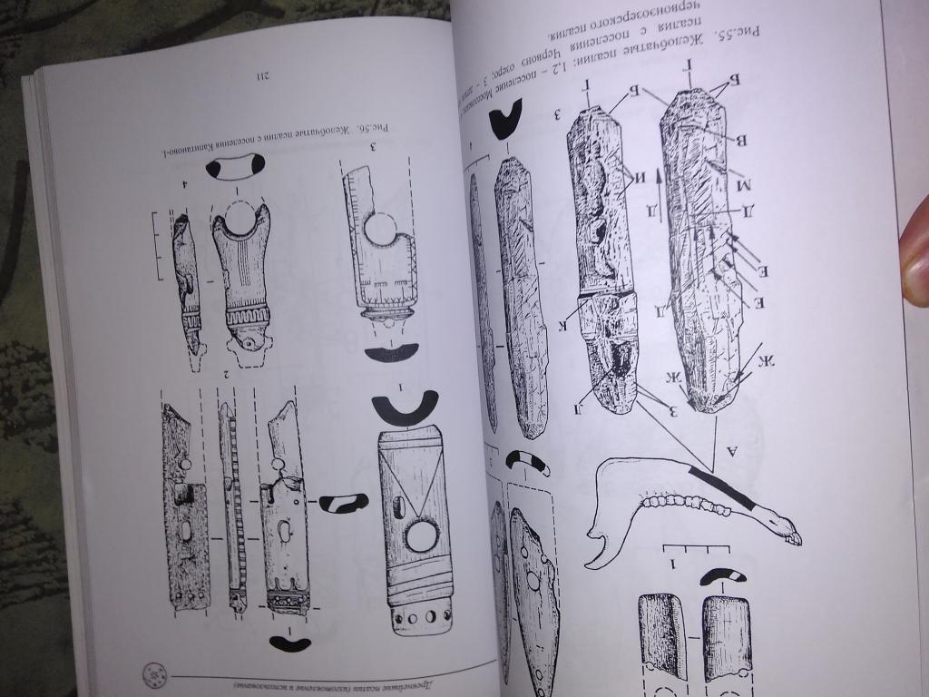 Древнейшие псалии-Археология