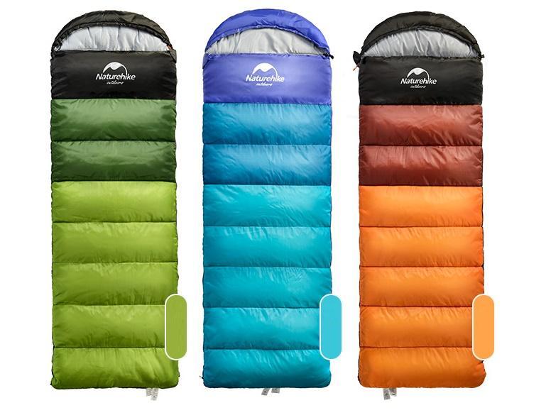 Спальник от 0 до - 5 NatureHike Осень - Зима !