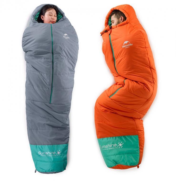 Спальный мешок от 0 до - 10 NatureHike Осень - Зима !