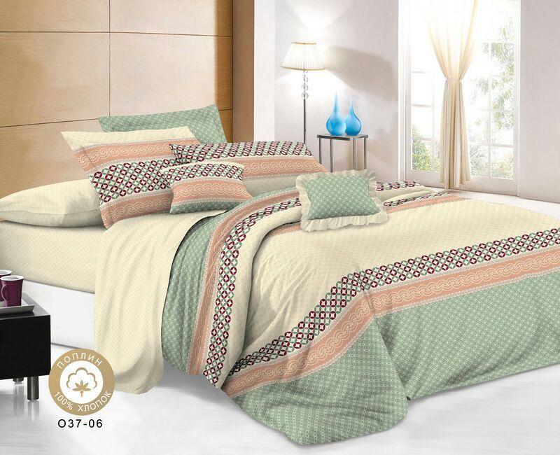 Комплект постельного белья Поплин премиум 100% хлопок