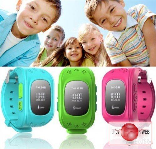 Детские Умные Часы - Телефон с GPS трекером Smart Baby Watch