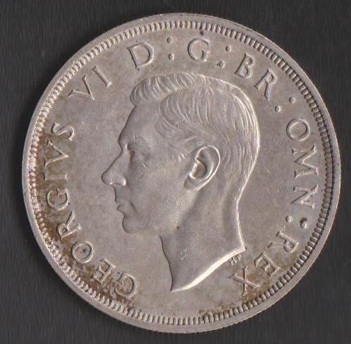 Великобритания 1 крона 1937 года