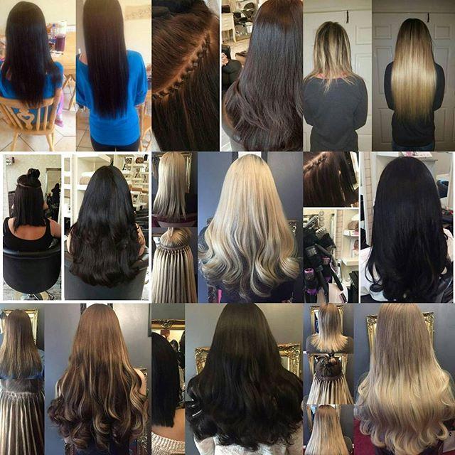 Профессиональное наращивание волос. Гарантия качества 100%