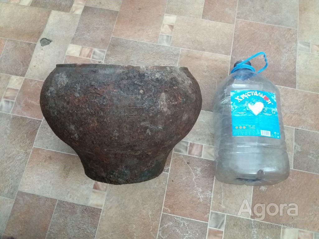 Чугунок 9-литров  найден при замени полов в старом доме