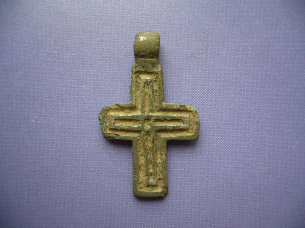 Крестик нательный старинный. 12-13 век. (100% оригинал.)