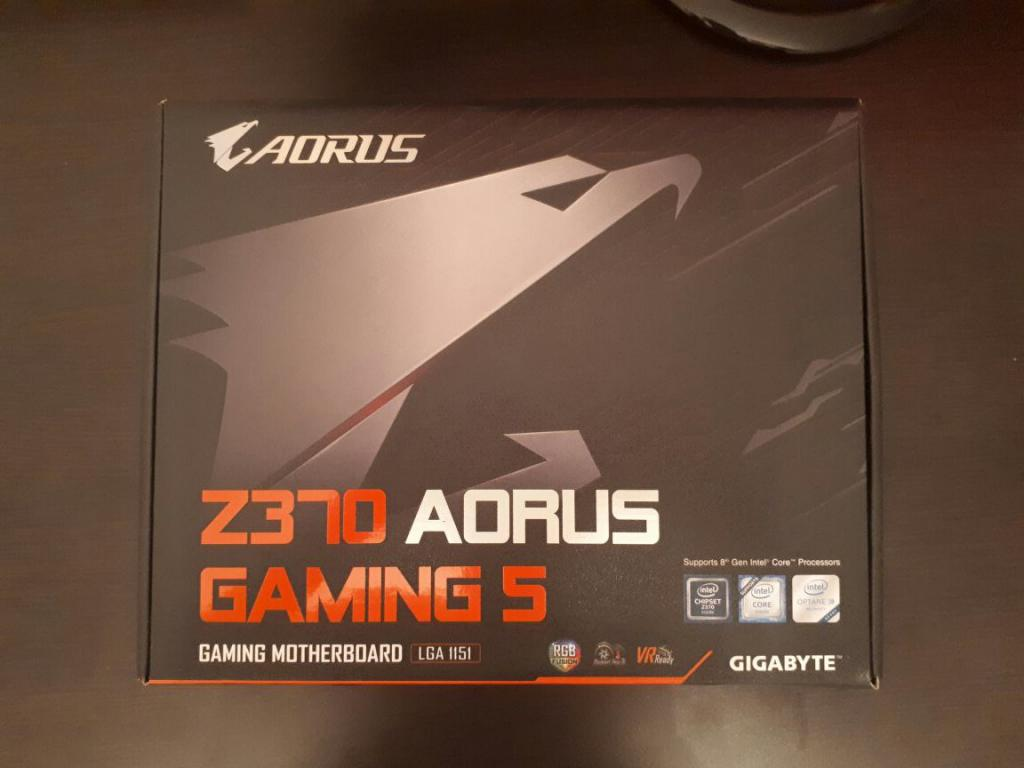 i7 8700K Coffe Lake + Мат.плата Gigabyte Z370 Aorus Gaming 5