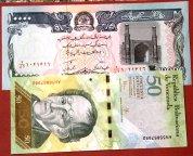 10 банкнот мира !!  UNC !!