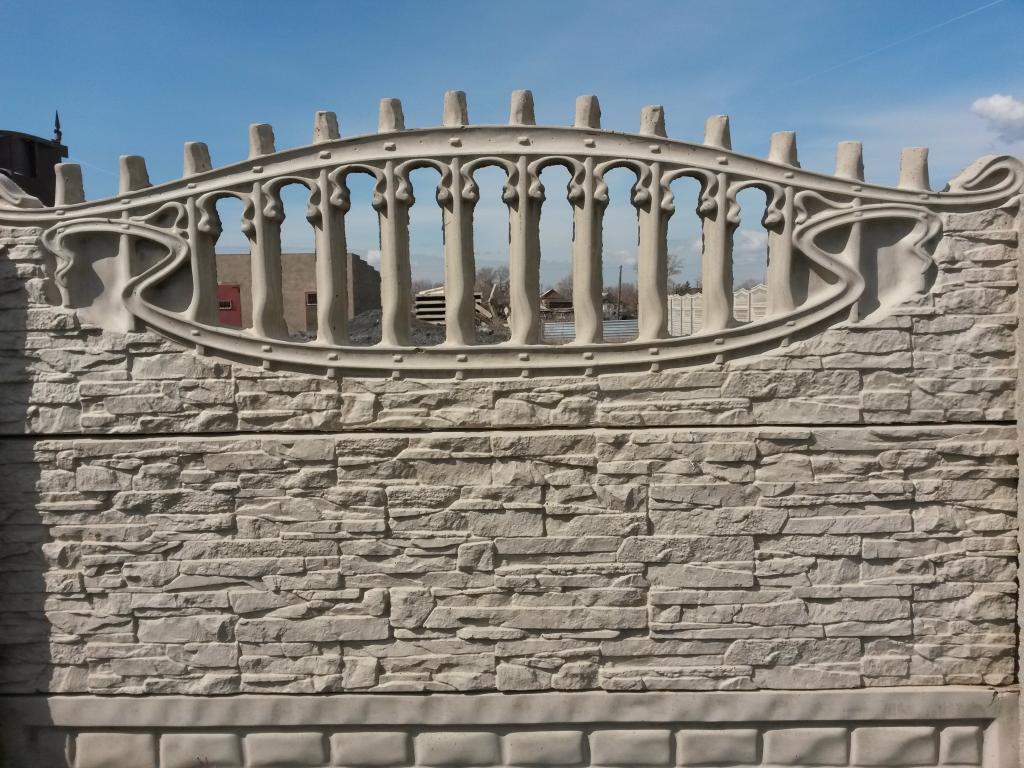Забор декоративный секционный