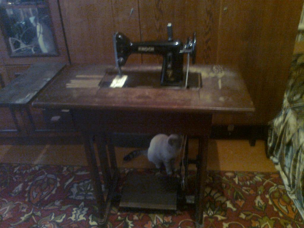 Швейная машинка Knoch.