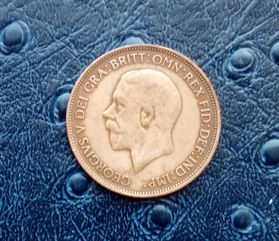 Великобритния 1 пенни 1936 год